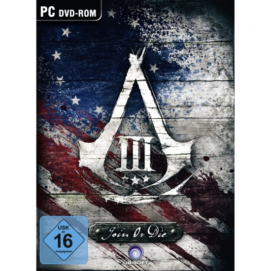 Assassin's Creed 3 Join or Die Edition (deutsch) (DE USK) (PC DVD)