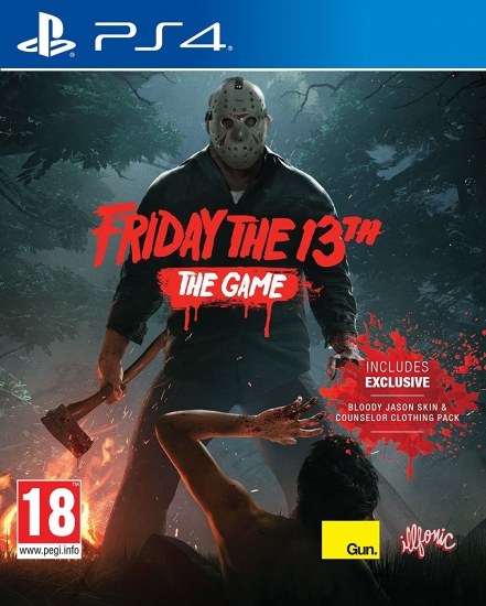 Friday the 13th The Game [uncut] (deutsch) (EU PEGI) (PS4)