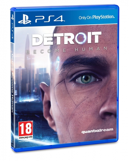 Detroit Become Human [uncut] (deutsch) (AT PEGI) (PS4) inkl. Dynamic PS4 Theme