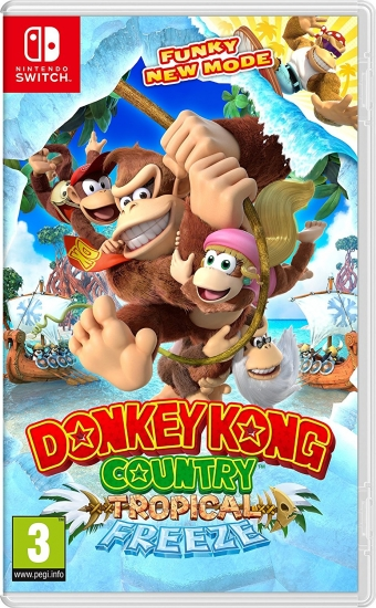 Donkey Kong Country Tropical Freeze (deutsch) (AT PEGI) (Nintendo Switch)