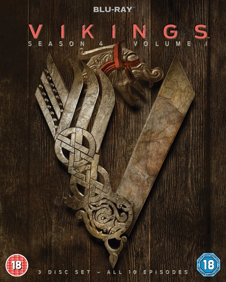 Vikings - Season 4 Part 1 [gebraucht] (englisch) (UK-Import) (Blu-ray)