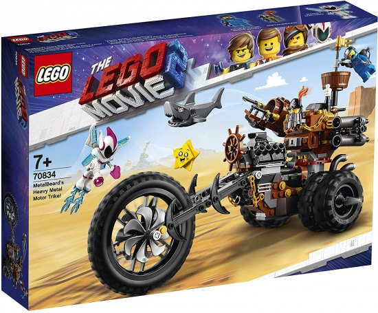 LEGO MOVIE 2 70834 EisenBarts Heavy-Metal-Trike! [neu]