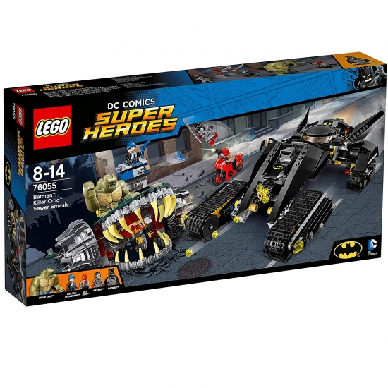 LEGO Super Heroes 76055 - Batman Killer Crocs Überfall in der Kanalisation [neu]