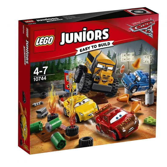 LEGO Juniors 10744 - Crazy acht Rennen in Thunder Hollow [neu]
