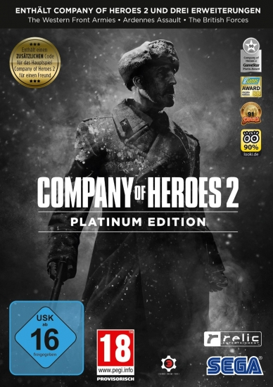 Company of Heroes 2 Platinum Edition [uncut] (deutsch) (AT PEGI) (PC DVD)