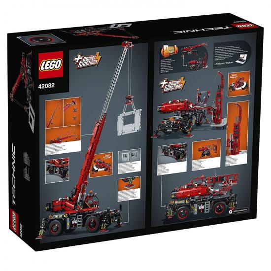 lego technic 42082 gel ndeg ngiger kranwagen neu. Black Bedroom Furniture Sets. Home Design Ideas