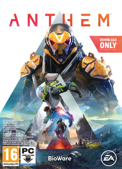 Anthem D1 Edition (deutsch) (AT PEGI) (PC) [Code in a Box] inkl. Ranger-Rüstung / Waffen-Set / Banner