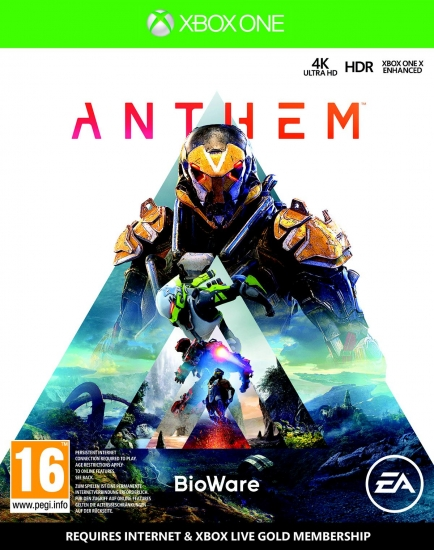 Anthem D1 Edition (deutsch) (AT PEGI) (XBOX ONE) inkl. Ranger-Rüstung / Waffen-Set / Banner