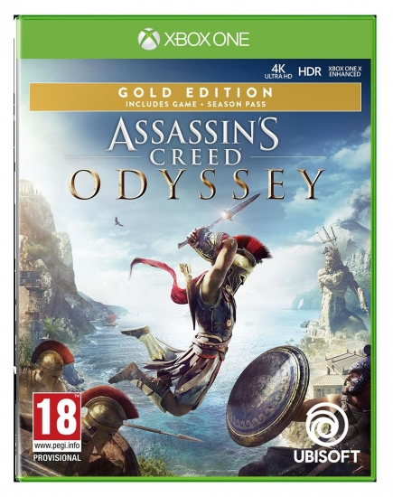 Assassin's Creed Odyssey Gold Edition [uncut] (deutsch) (AT PEGI) (XBOX ONE) inkl. Season Pass / Assassins Creed 3 & Liberation Remastered / Der Blinde König DLC