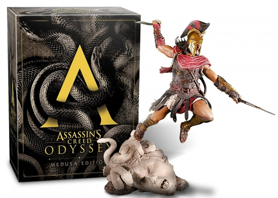 Assassin's Creed Odyssey Medusa Edition [uncut] (deutsch) (DE) (XBOX ONE) inkl. Der Blinde König DLC