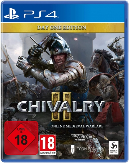 "Chivalry 2 Day One Edition [uncut] (deutsch) (AT PEGI) (PS4) inkl. ""Royal Zweihänder"" Waffen Skin DLC"