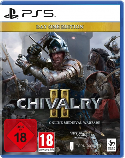 "Chivalry 2 Day One Edition [uncut] (deutsch) (AT PEGI) (PS5) inkl. ""Royal Zweihänder"" Waffen Skin DLC"