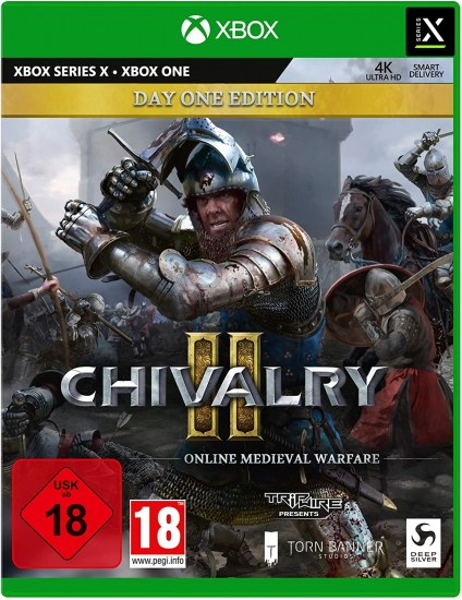"Chivalry 2 Day One Edition [uncut] (deutsch) (AT PEGI) (XBOX ONE / XBOX Series X) inkl. ""Royal Zweihänder"" Waffen Skin DLC"