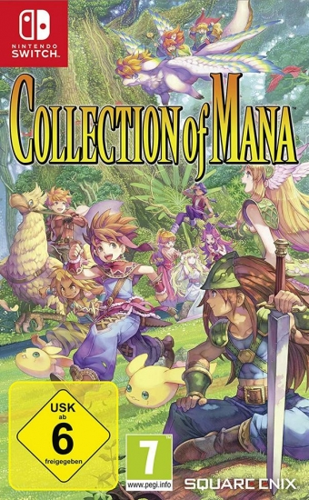 Collection of Mana Limited Edition (deutsch) (AT PEGI) (Nintendo Switch)