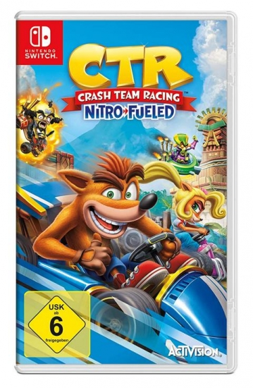 Crash Team Racing Nitro Fueled (deutsch) (DE) (Nintendo Switch)