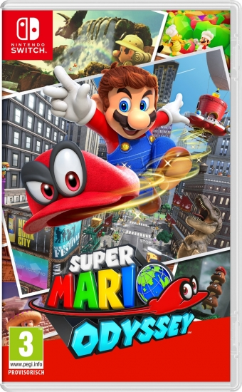 Super Mario Odyssey (deutsch) (AT PEGI) (Nintendo Switch)