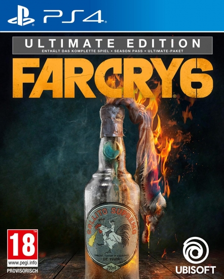 Far Cry 6 Ultimate Edition [uncut] (deutsch) (AT PEGI) (PS4) inkl. Libertad-Paket / Season Pass / Ultimate Paket