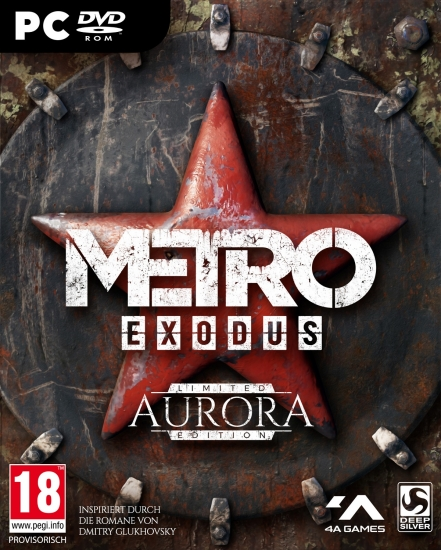 Metro Exodus Aurora Limited Edition [uncut] (deutsch) (AT PEGI) (PC DVD) inkl. Steelbook / Artbook / Expansion-Pass / Thumbgrips