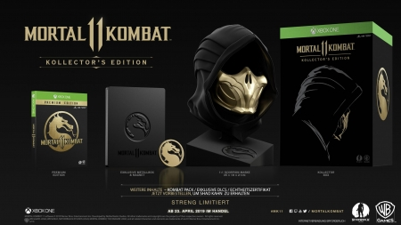 Mortal Kombat 11 Kollector's Edition [uncut] (deutsch) (AT PEGI) (XBOX ONE) inkl. Shao Khan
