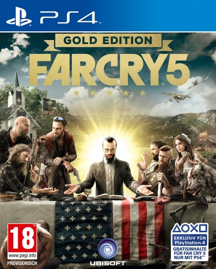 Far Cry 5 - Gold D1 Edition [uncut] (deutsch) (AT PEGI) (PS4) inkl. 6 DLCs / Deluxe Edition / Season Pass