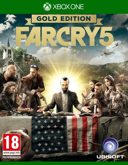 Far Cry 5 - Gold D1 Edition [uncut] (deutsch) (AT PEGI) (XBOX ONE) inkl. 6 DLCs / Deluxe Edition / Season Pass