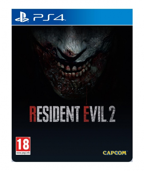 Resident Evil 2 Remake Limited Steelbook Edition [uncut] (deutsch) (AT PEGI) (PS4) inkl. Samurai Edge Chris & Jill Model DLC