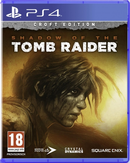 Shadow of the Tomb Raider Croft Edition [uncut] (deutsch) (AT PEGI) (PS4) inkl. Early Access / Season Pass / 7 Challenge Tombs / Waffen / Outfits / Skills