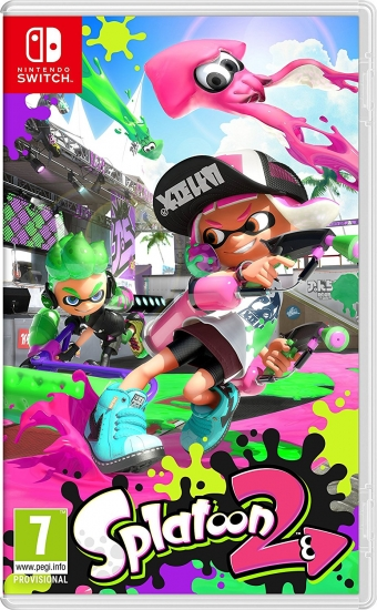 Splatoon 2 (deutsch) (EU PEGI) (Nintendo Switch)