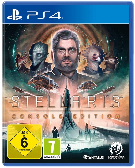 Stellaris Console Edition (englisch) (AT PEGI) (PS4) inkl. 4 DLCs