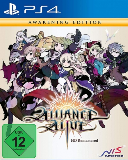 The Alliance Alive HD Remastered - Awakening Edition (englisch) (DE) (PS4)