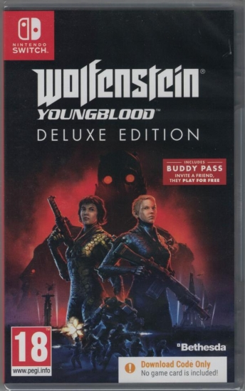 Wolfenstein Youngblood Deluxe Edition [uncut] (englisch) (EU PEGI) (Nintendo Switch)