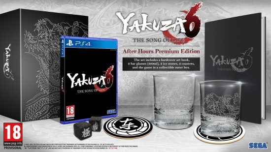 Yakuza 6 The Song of Life - After Hour Premium Edition [uncut] (deutsch) (AT PEGI) (PS4)