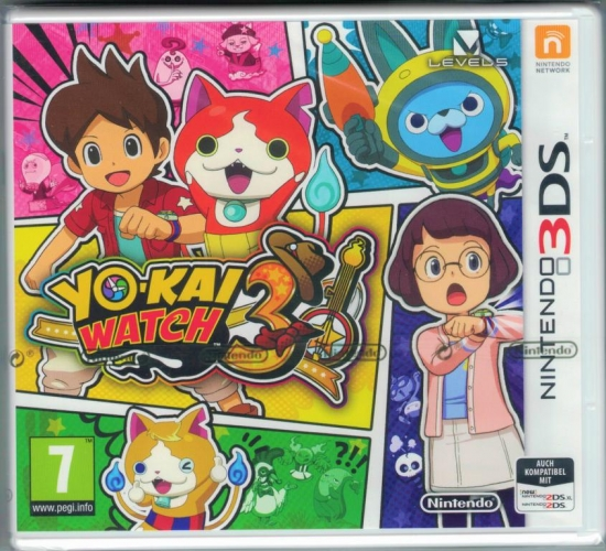 YO-KAI WATCH™ 3 (deutsch) (AT PEGI) (3DS)