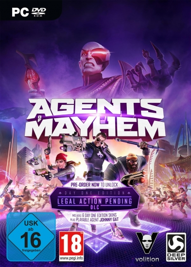 Agents of Mayhem D1 Edition [uncut] (deutsch) (AT PEGI) (PC DVD) inkl. 7 DLCs