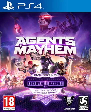 Agents of Mayhem D1 Edition [uncut] (deutsch) (AT PEGI) (PS4) inkl. 7 DLCs