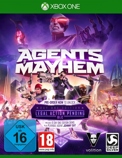 Agents of Mayhem D1 Edition [uncu] (deutsch) (AT PEGI) (XBOX ONE) inkl. 7 DLCs