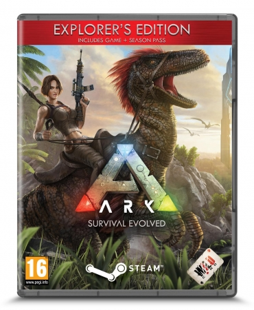 ARK Survival Evolved - Explorer's Edition [uncut] (deutsch) (AT PEGI) (PC DVD)