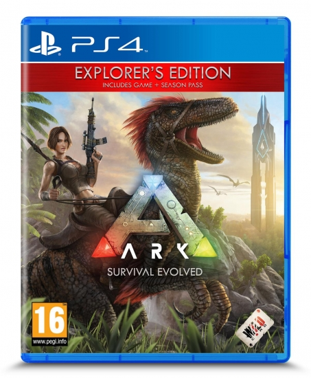 ARK Survival Evolved - Explorer's Edition [uncut] (deutsch) (AT PEGI) (PS4)