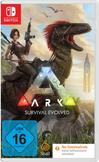 ARK Survival Evolved (deutsch) (DE USK) (Nintendo Switch) [Code in a Box]