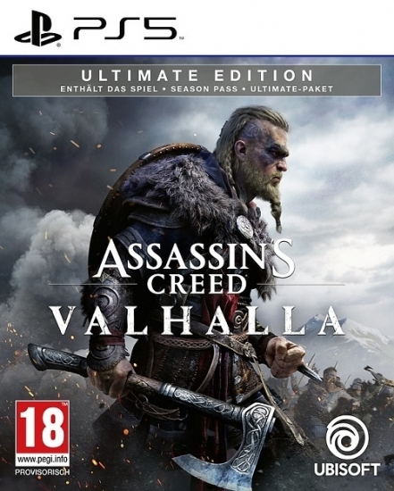 Assassin's Creed Valhalla Ultimate Edition [uncut] (deutsch) (AT PEGI) (PS5) inkl. Bonus-Mission / Season Pass / Ultimate-Paket