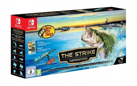 Bass Pro Shops The Strike Bundle (deutsch) (AT PEGI) (Nintendo Switch) inkl. Controller als Angel/Spule