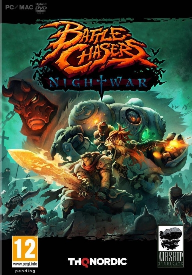 Battle Chasers Nightwar (deutsch) (AT PEGI) (PC DVD)