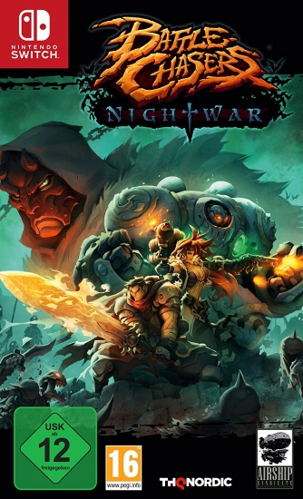Battle Chasers Nightwar (deutsch) (AT PEGI) (Nintendo Switch)