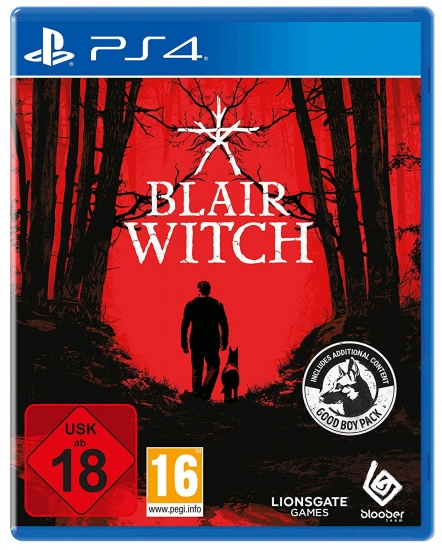 Blair Witch Day One Edition [uncut] (deutsch) (AT PEGI) (PS4) inkl. Good Boy Pack