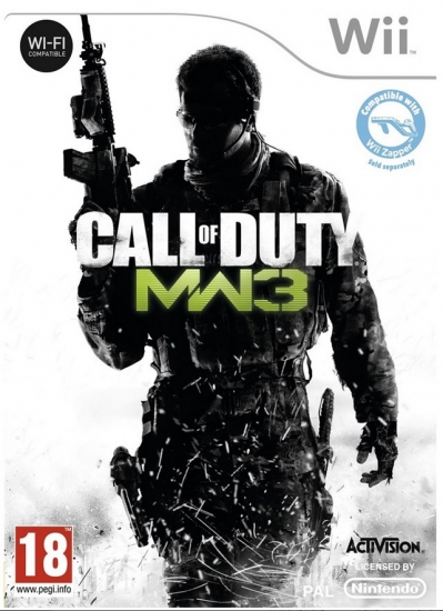 Call of Duty Modern Warfare 3 (englisch) (EU PEGI) (Nintendo Wii)