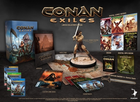 Conan Exiles Collector's Edition [uncut] (deutsch) (AT PEGI) (XBOX ONE)
