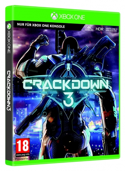 Crackdown 3 [uncut] (deutsch) (AT PEGI) (XBOX ONE)