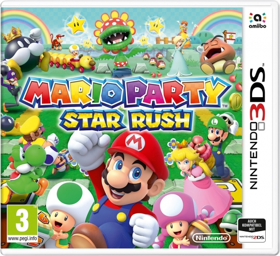 Mario Party Star Rush (deutsch) (EU PEGI) (3DS)