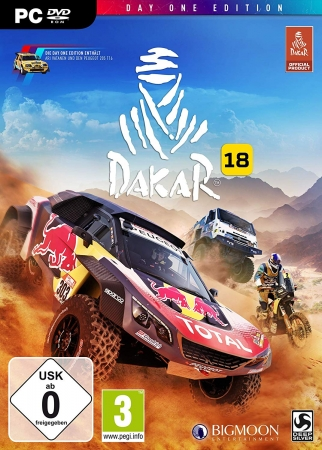 Dakar 18 D1 Edition (deutsch) (AT PEGI) (PC DVD) inkl. Peugeot 205 Turbo 16