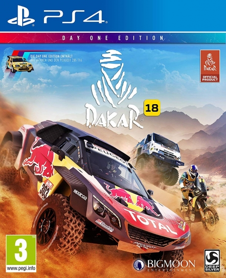 Dakar 18 D1 Edition (deutsch) (AT PEGI) (PS4) inkl. Peugeot 205 Turbo 16